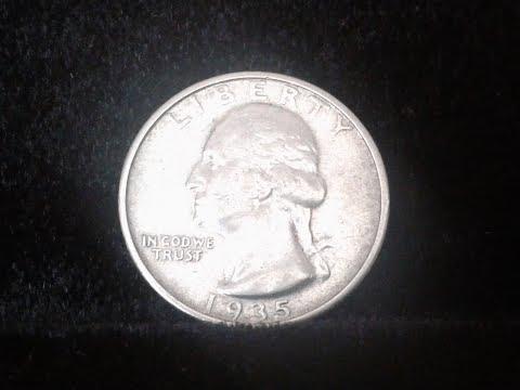 A 1935 Silver Quarter