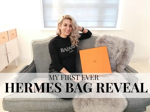 MY FIRST EVER HERMES BAG!!! | HERMES BAG REVEAL | IAM CHOUQUETTE HERMES BAG