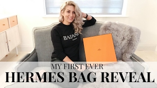 One of Iam CHOUQUETTE's most viewed videos: MY FIRST EVER HERMES BAG!!! | HERMES BAG REVEAL | IAM CHOUQUETTE HERMES BAG