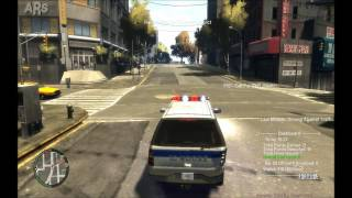 GTA IV Police Pursuit Mod 7.6d HD 1080p