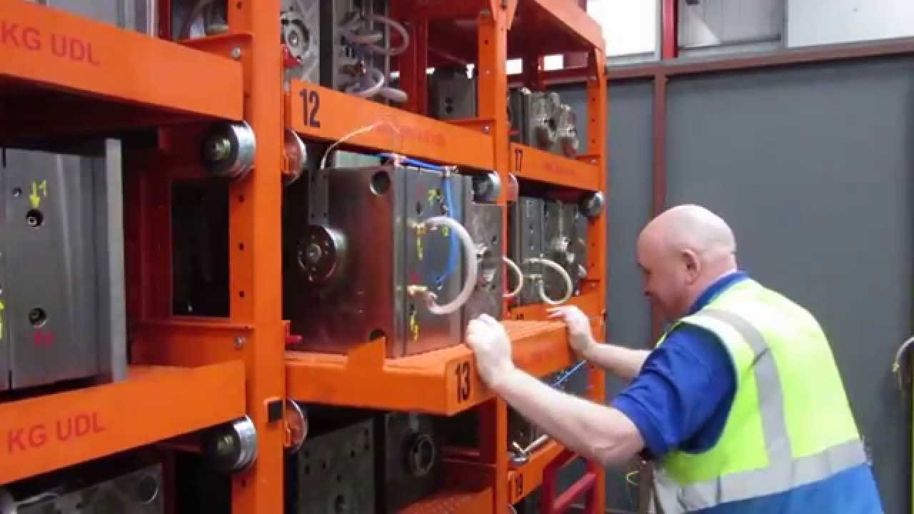 Mould Tool Racking & Mould Tool Racking - YouTube