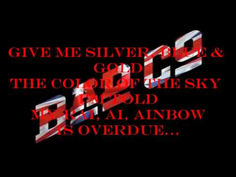 Silver, Blue And Gold (Bad Company karaoke).wmv