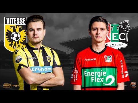 Paskie Rokus - Romano Jansen | Vitesse - N.E.C. Nijmegen | Speelronde 28 | E-Divisie