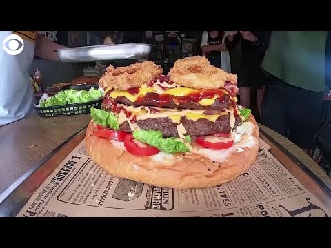 None - The 13-lb burger challenge