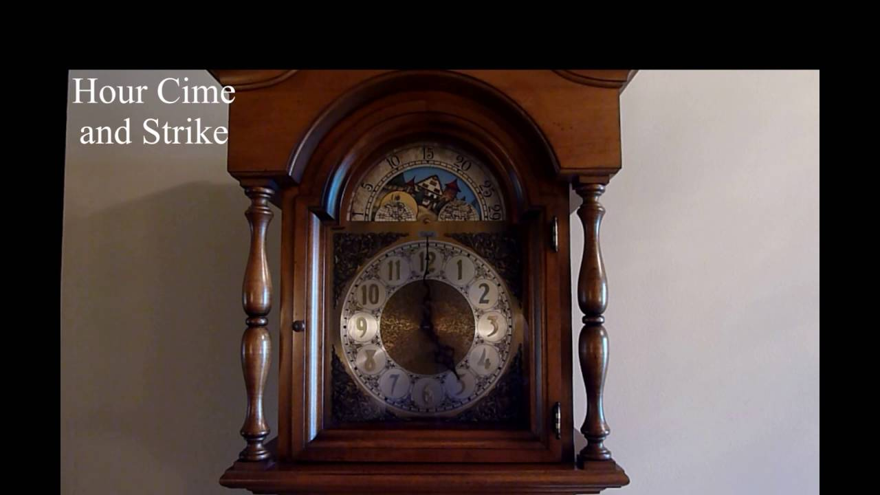 Grandmother Clock Wesminster Chimes Youtube