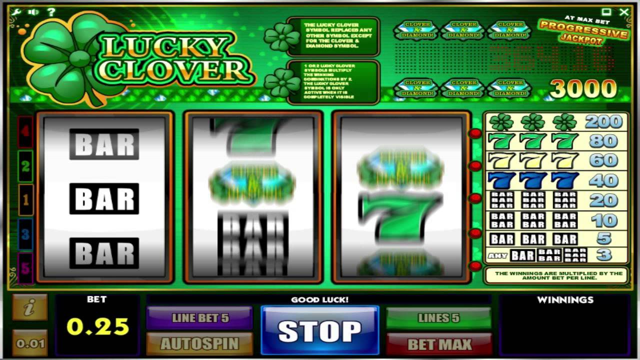 Image result for lucky clover slots