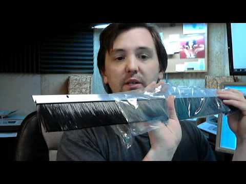 Dorbin 6ap Mill Nylon Brush Door Sweep Youtube