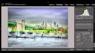 creating painting effects / affects with a digital image vignetting