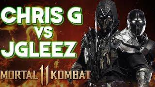 SICK NOOB SAIBOT COMBOS! | ChrisG (Noob) vs JGleez (Jade) Mortal Kombat 11