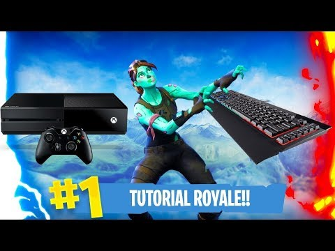 How To Use Keyboard And Mouse On Xbox One For Fortnite - Tutorial And Gameplay!