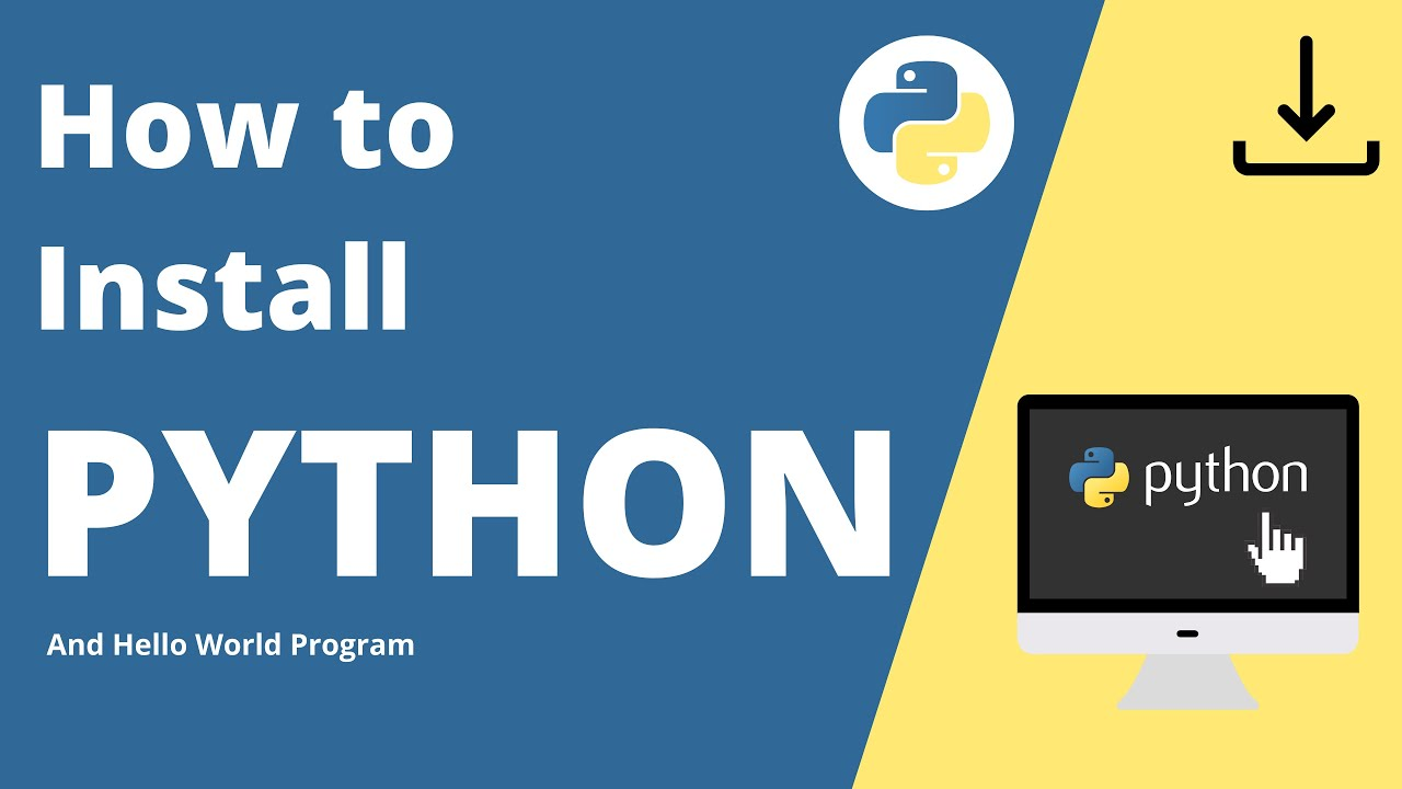 How to Install Python & Get Started | Python For Beginners 2021