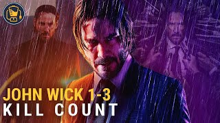 John Wick Kill Counter | Chapter 1, Chapter 2 & Chapter 3
