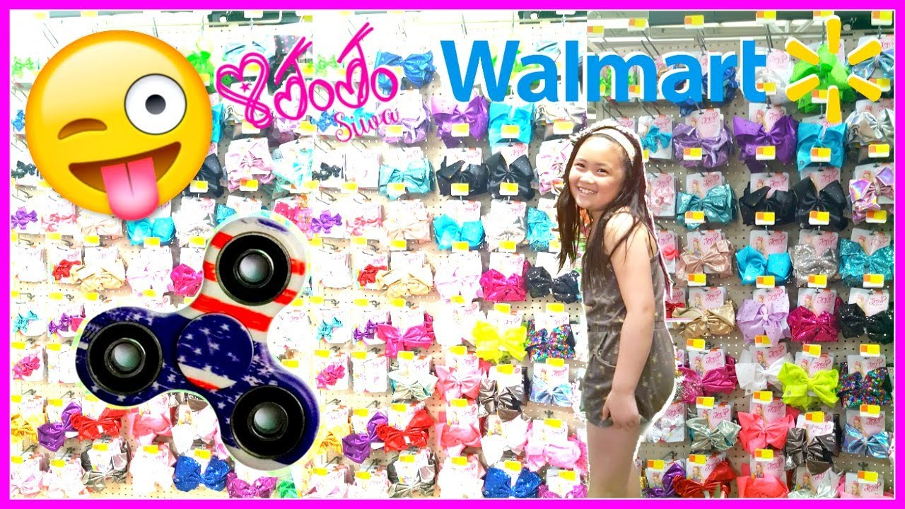New Jojo Siwa Bows At Walmart Fidget Spinner At Walmart