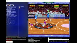 NBA Jam - Tournament Edition - 2016 Winter Tournament Matchup Between Davideo7 and Jordanv78 - NBA Jam - Tournament Edition (SNES) - User video