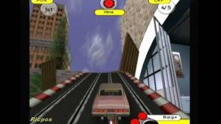 PS2 - Groove Rider: Slot Car Racing - Gameplay