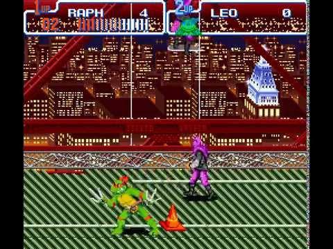 SNES Longplay [298] Teenage Mutant Ninja Turtles IV: Turtles in Time (a)