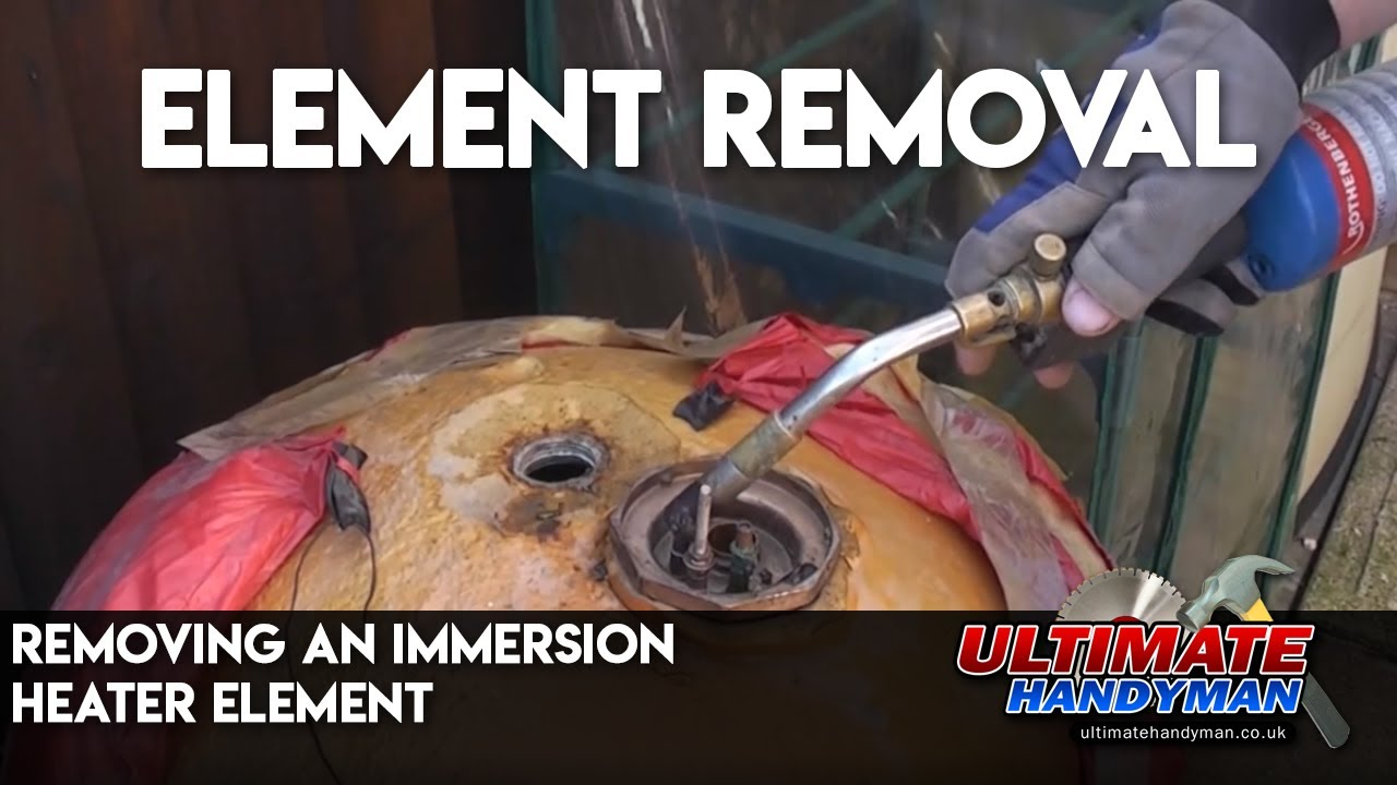 Removing An Immersion Heater Element Youtube Cylinder Thermostat Wiring