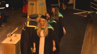 NTU Graduation 2015 – Monday 20 July 2.15pm