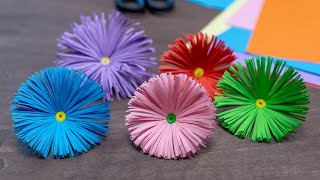 Making Flowers out of Paper | How to Make Easy Paper Flower | DIY Paper Crafts