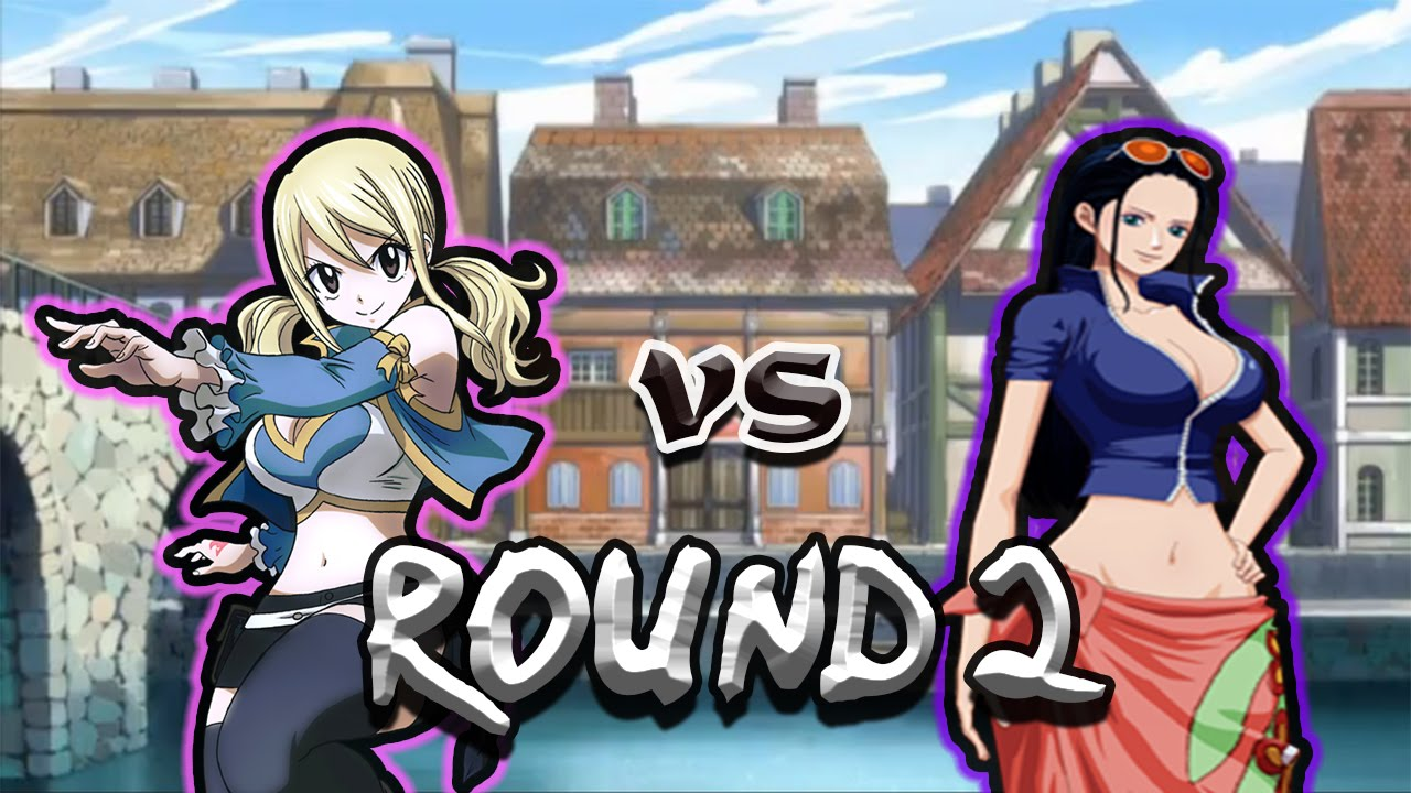 Fairy Tail vs One Piece - ROUND 2 - YouTube