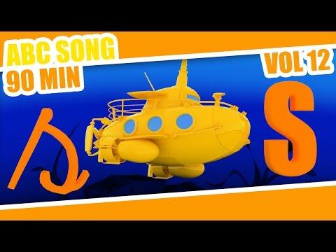 ABC Song Submarine   90min of Nursery Rhymes