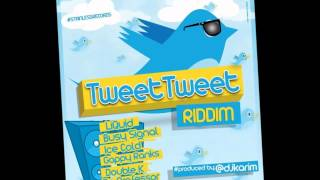 TWEET TWEET RIDDIM (APRIL, 2012)(ZJ LIQUID,BUSY SIGNAL,GAPPY RANKS,ICE COLD,DOUBLE K)&MORE -DJ DRO