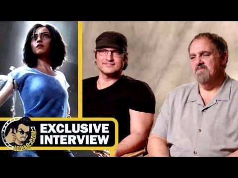ALITA: BATTLE ANGEL  Director Robert Rodriguez & Producer Jon Landau  CinemaCon 2018