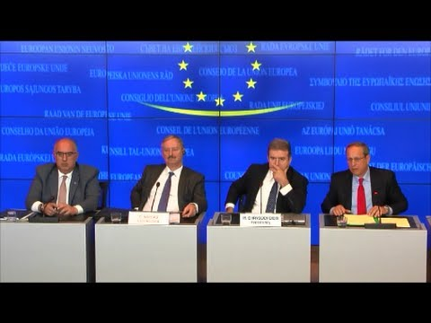 Meeting of the TTE Council, Day 1, Luxembourg 05.06.2014 - Press Conference
