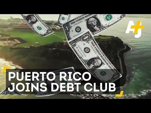 Puerto Rico Is Drowning In Debt...Lots Of Debt