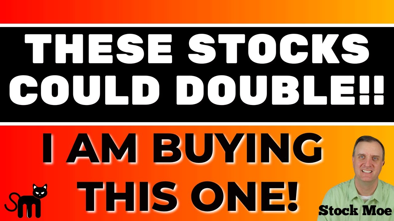 THESE STOCKS COULD DOUBLE QUICKLY & EASILY THE BEST GROWTH STOCKS TO BUY NOW AND I AM BUYING!!!