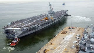 USS Harry S. Truman Strike Group Back Underway After More Than a Month in Port