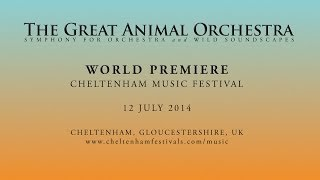 Preview: The Great Animal Orchestra Symphony
