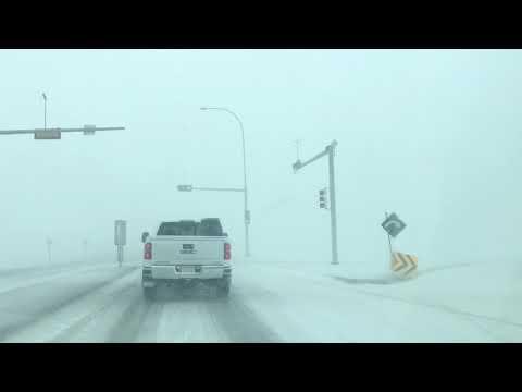 BLIZZARD Warnings #AlbertaStorm Blizzard in Calgary! April 27, 2019