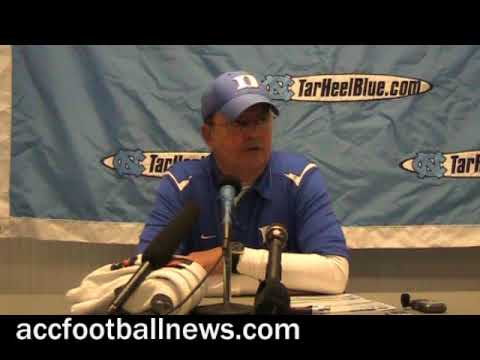 Duke football coach David Cutcliffe post-game comments ...