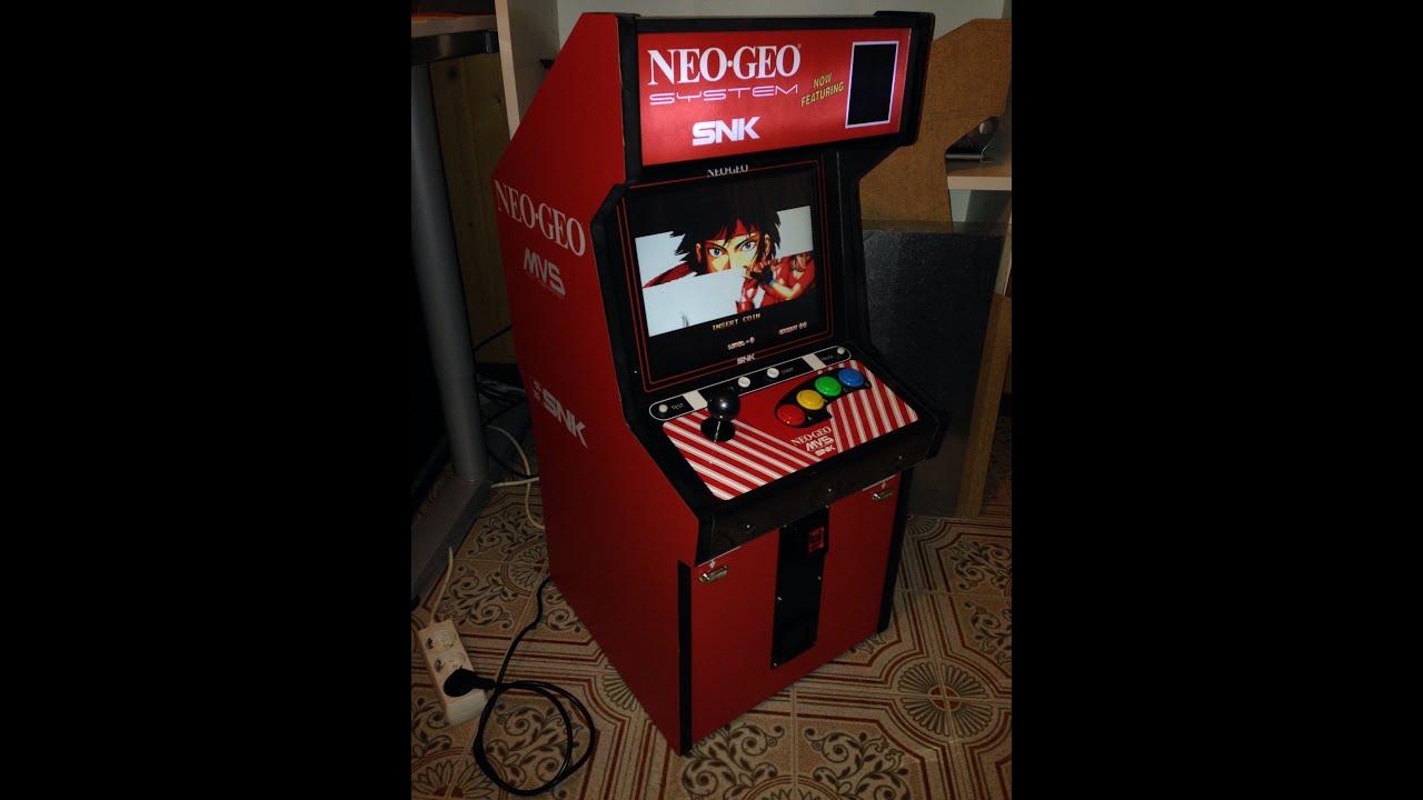 neo geo mini recreativa mvs arcade cabinet neogeo