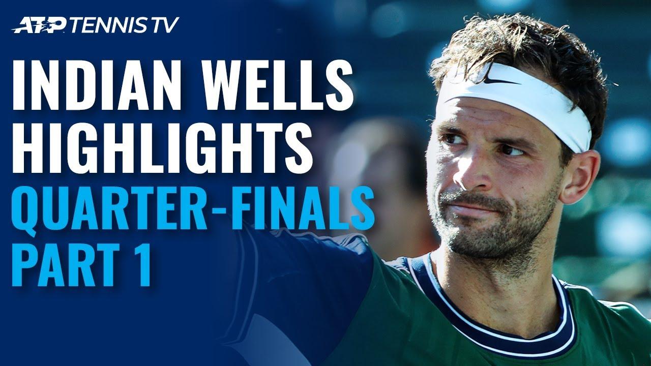 Dimitrov Faces Hurkacz; Schwartzman and Norrie Battle | Indian Wells 2021 Quarter-Final Highlights