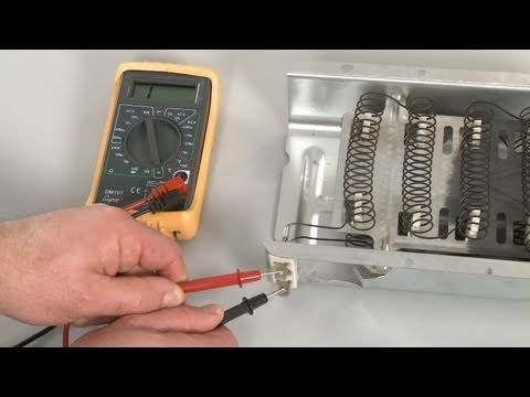 Dryer Not Heating? Heating Element Testing, Troubleshooting