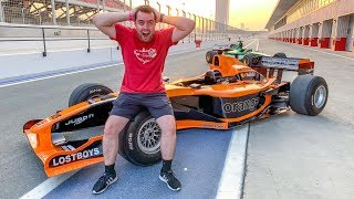 What It's Like To Drive An F1 Car! *Emotional*