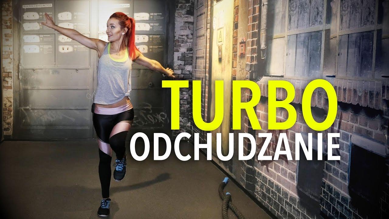 Odchudzający Turbo Trening + Rozgrzewka + Rozciąganie