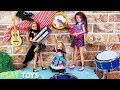 Barbie Girl and Friends Music Play Toys!