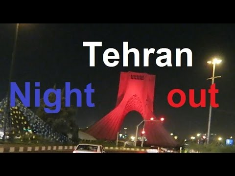 Tehran Night out