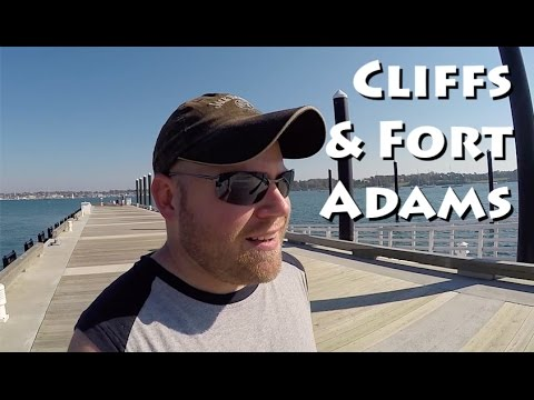 Rhode Island - Cliff Hikes & Inside Fort Adams State Park