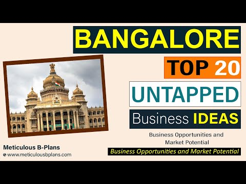 BANGALORE Business Investment Opportunities (Top Trending Research based Potential BUSINESS IDEAS)