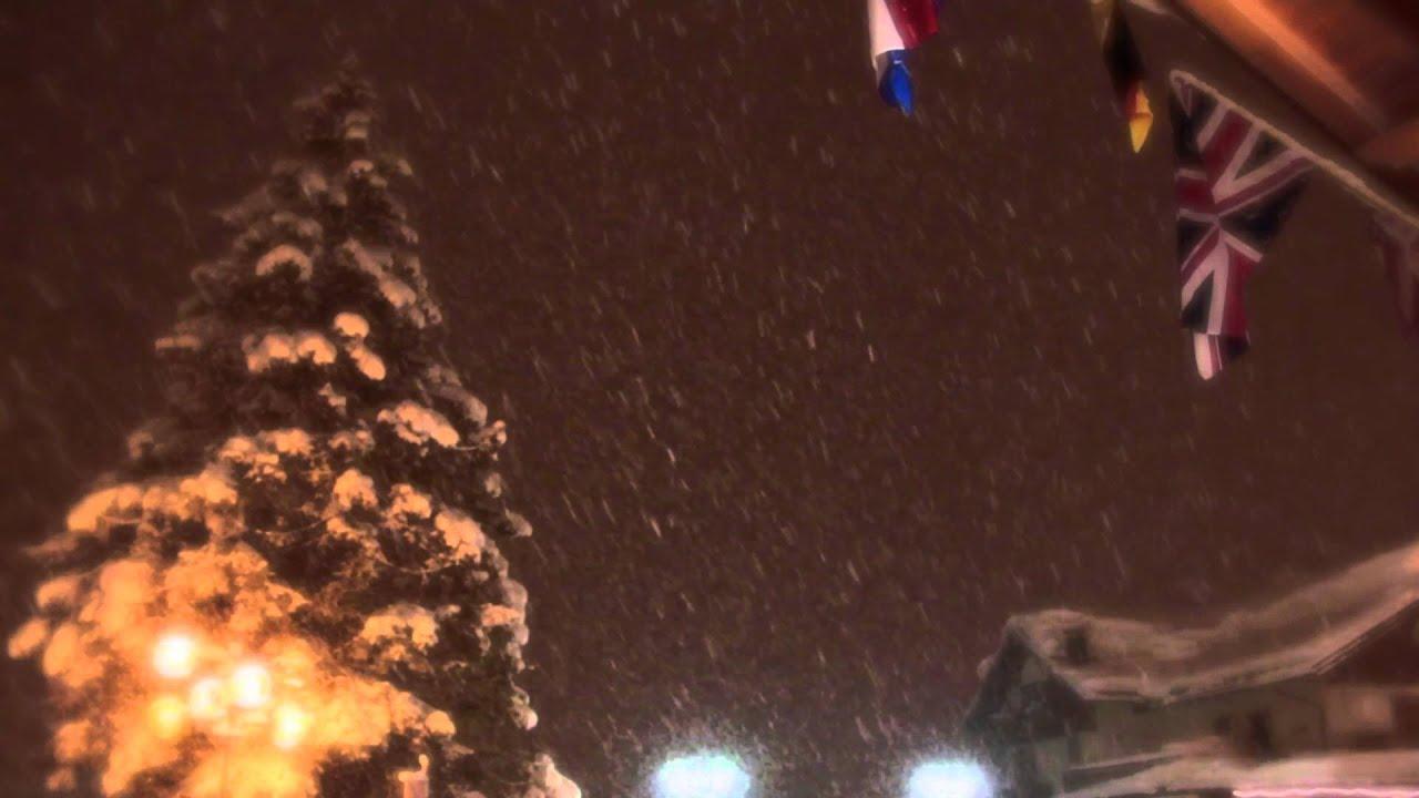 San martino di castrozza - inverno notte - (videopics)