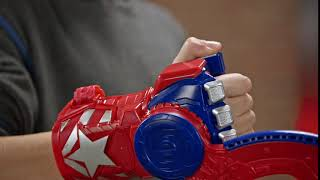Details about  /NEW Avengers Power Moves Role Play Captain America