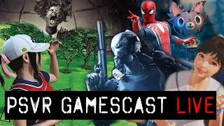 PSVR GAMESCAST LIVE | PSVR2 Leaks | Focus on You | Ghost Giant Winners Announced!