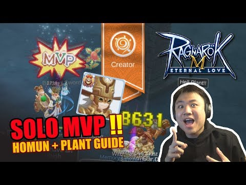 [GUIDE] CREATOR SOLO MVP SPASHIRE ( HELL PLANT + HOMUN BUILD ) - Ragnarok M Eternal Love [Indonesia]