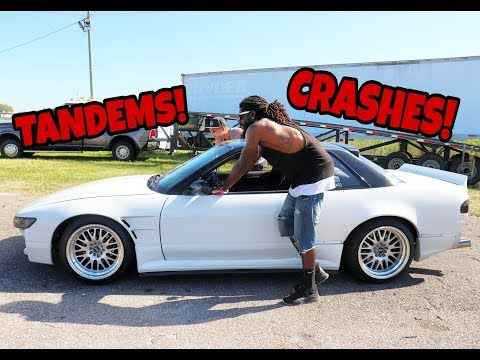 Tandems,Crashes, Blown Engines-Drift Day Pt.2