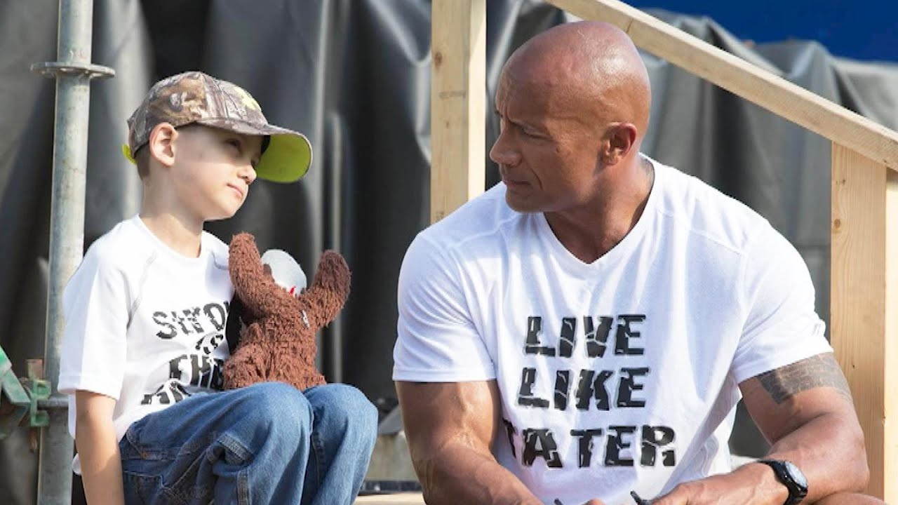 Dwayne Johnson on His Life-Changing Connection With a 7-Year-Old Fan (Exclusive)