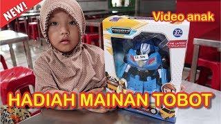 Dapat Hadiah Mainan Tobot | Buka Mainan | Unboxing Mainan | Zhafirah Toys